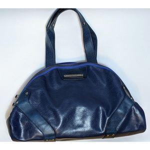 Vintage Matt & Nat Vegan Leather Cosmo Blue Purse